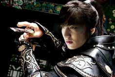 Lee Min Ho-FAITH.  This series has begun but I am afraid to watch because I know it will become an obsession.  #kdramaproblems