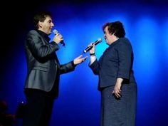 """This duet with Daniel is the second song that Susan Boyle sang at the Daniel O'Donnell concert in the Royal Theatre Castlebar on 24th July 2010. Check my other videos to hear her sing """"I dreamed a dream"""" in Castlebar!"""
