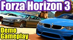 FORZA HORIZON 3 Demo Gameplay (XBox One) Wheel Camera First Person