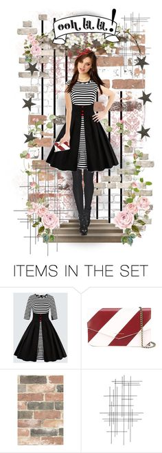 """Ooh La La! Spring!"" by theeverywheregirl ❤ liked on Polyvore featuring art, Spring, doll and stripes"