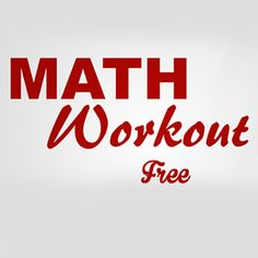 Math Workout is a very polished application that includes plenty of fun math games designed for all ages. The games might be too basic for users in high school or beyond. The younger users could really benefit from brain exercise & fast thinking skills this game offers, though. This brain-fitness game offers many different ways to test your addition, multiplication, subtraction, & division skills. Most hinge on being able to solve basic problems
