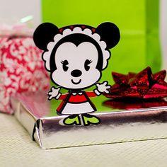 Muñeca navideña de Minnie Mouse