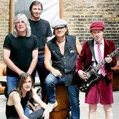 AC/DC 's rowdy image, giant riffs and macho lyrics about sex, drinking and damnation have helped make them one of the top hard-rock bands in history.
