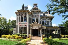 """This historic masterpiece Victorian home, circa 1842, was recently featured in the Disney film, """"The Odd Life of Timothy Green"""" and is set on 2.5 acres that also includes a 3 bedroom/2 bath carriage house. The home is truly a masterpiece and was formerly a bed & breakfast / event venue. The museum style renovation includes Victorian garden room, Koy pond, swimming pool, gazebo and 3 car garage. A 2008 renovation added a wonderful chef's kitchen. Various woods are used ..."""