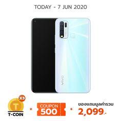 Vivo Y50 Ram 6GB l Rom 128GB White Pearl |thisshop