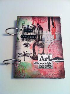 Art Journey Design-team: Art Boek /Art Booklet