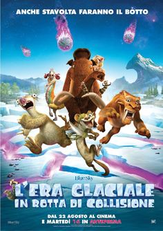 cover maniak!: L'era glaciale: In rotta di collisione (2016)