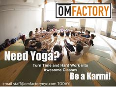 Join our work-study program for free classes, a warm community and exciting events :)