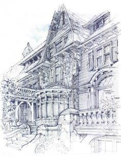 Meyer & Meyer, Inc. rendering   Tudor design inspiration