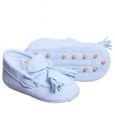 c66c5648f71d Mayoral Baby Boys Blue Pre Walker Shoes at Childrensalon.com