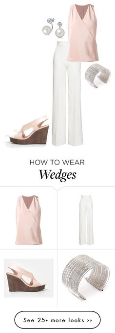 """""""Untitled #2771"""" by injie-anis on Polyvore featuring Emilia Wickstead, Peter Cohen, CHARLES & KEITH, Bling Jewelry and Forever 21"""
