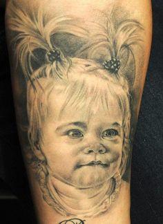 Tattoo by Andy Engel Piercing Studio, Regrets, Fan, Portrait, Tattoos, Board, Tatuajes, Headshot Photography, Tattoo