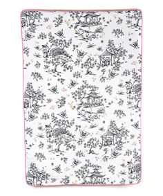 Look what I found on #zulily! China Doll Crib Quilt by Whistle & Wink #zulilyfinds