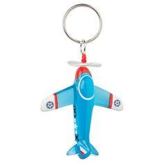 Lalo Blue Aeroplane Keyring