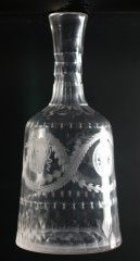 9507 A Fine Neo-Classical Engraved Carafe — Georgian Decanters 1680 -1830 — Butlers Antiques