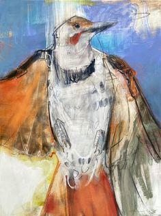 Bird Artwork, Bird Paintings, Pastel Artwork, Abstract Animals, Alcohol Ink Art, Sketchbook Inspiration, Art Challenge, Contemporary Paintings, Spirit Animal