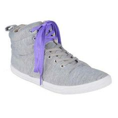 Reva Marah High-cut Shoes (Gray)