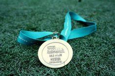 My first marathon...Seattle Marathon November 2010  Wearblueruntoremember.org #wearblue @wbr2r