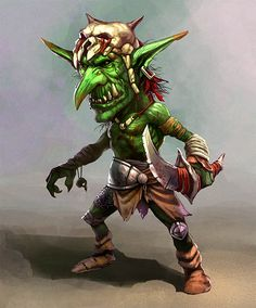 Goblins are the scourge of the Warhammer world, an unending tide of ferocious raiders trampling a swathe of destruction across the land. Orcs and Goblins are angry creatures that live to fight, their only goal is to rampage and slaughter.