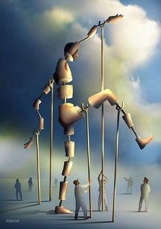 Digital Art Surrealism by Marcel Caram