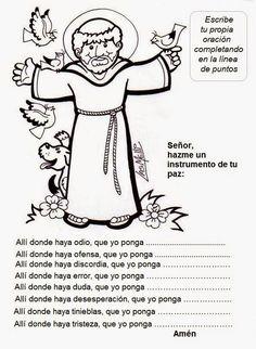 El Rincón de las Melli: Santos (Francisco de Asís)