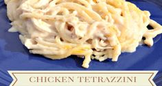 Chicken Tetrazzini - This is an easy casserole recipe to throw together on a cool night. Great recipe for leftover chicken.