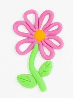 fleur-rose-pate-a-modeler. Play Doh For Kids, Clay Crafts For Kids, Kids Clay, Clay Modelling For Kids, Clay Activity, Playdough Activities, Clay Art Projects, Plasticine, Art Drawings For Kids