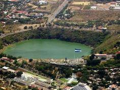 Laguna de Tiscapa. Managua.