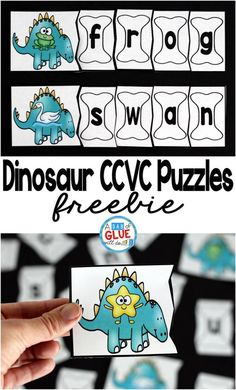 Dinosaur CCVC Puzzle