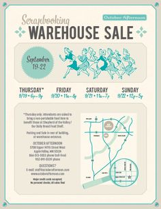 OA Warehouse Sale Flyer