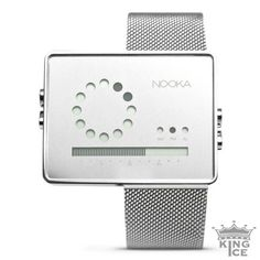 Nooka Zirc MR Quartz Stainless Steel Mesh Band Watch