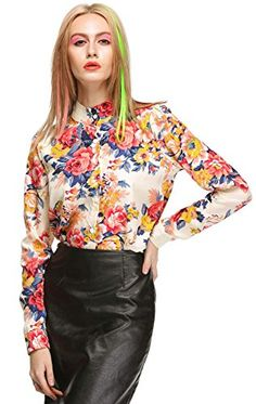 MEXI Women's Chiffon Long Sleeve Shirt Floral Loose Tops Blouse T-Shirt Mexi http://www.amazon.com/dp/B00TC0AQ0S/ref=cm_sw_r_pi_dp_Mt-0vb1RHEE7D