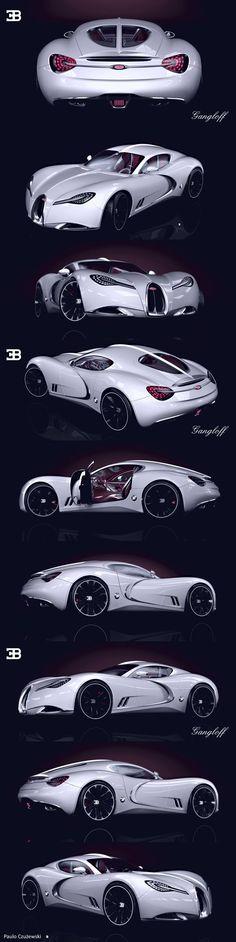 Gangloff Bugatti-Concept Design by Paulo Czyzewski - https://www.luxury.guugles.com/gangloff-bugatti-concept-design-by-paulo-czyzewski/