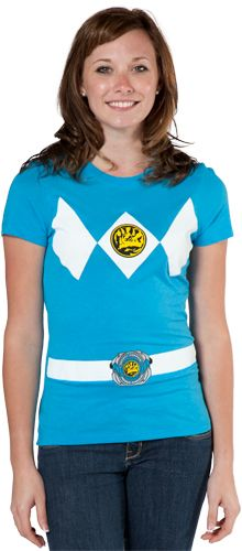 Saw a girl wearing one of these..  Need one to be a pink ranger!