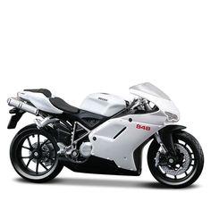 Miniatura Ducati 848 Maisto 1:18 - Machine Cult   A loja das camisetas de carro e moto