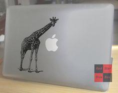 Items similar to Macbook decals**Giraffe**Macbook Pro Stickers/Mac Decal/Mac Sticker for Apple Laptop/Macbook Pro Air/iPad Air Mini on Etsy