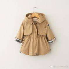 2015 New Arrival Kid Hoodie Trench Coats Western Fashion Candy Color Children Patchwork Pockets And Elastic Waist Coats Winter Outwears Online with $21.97/Piece on Smartmart's Store | DHgate.com