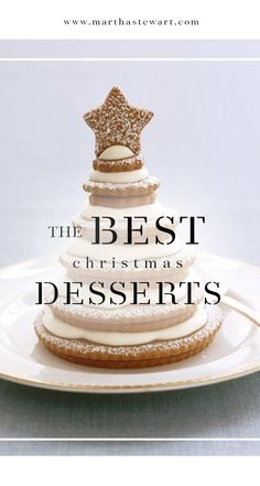 The Best Christmas Desserts | Martha Stewart Living - Treat your family to something sweet this Christmas with the best dessert recipes from 20 years of Martha Stewart Living.