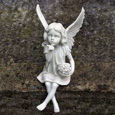 garden fairy statues Google Search Garden IdeasDesign