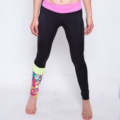 Full length legging made with 4-way stretch fabric and adjustable tie at the waist and zipper pocket in back. Extra Small Pant Size 0-2 Small Pant Size 2-4 Medium Pant Size 4-6 Large Pant Size 6-8 Price: $78.00