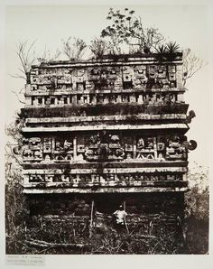 Chichen-Itza, circa 1862. Ancient Egyptian Art, Ancient Aliens, Ancient History, European History, Ancient Greece, American History, Tikal, Ancient Mysteries, Ancient Artifacts