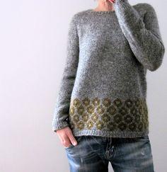 lilalu está se preparando para o outono, Ravelry: lilalu está se preparando para o outono. Fair Isle Knitting, Loom Knitting, Baby Knitting, Knitting Stitches, Pull Jacquard, Ravelry, How To Purl Knit, Knitting Designs, Pulls
