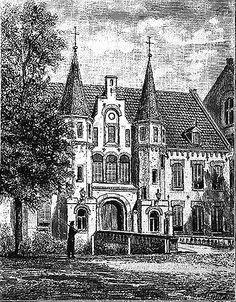 Poort van de gevangenis te Leeuwarden