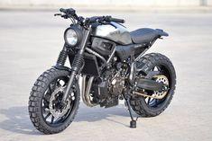 "Racing Cafè: Yamaha MT-07 ""Atacama 700 S"" by WalzWerk-Racing"
