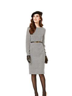 Schnittmuster: Kleid - Shiftkleid langarm