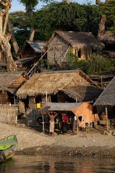 Rural Village in Myanmar