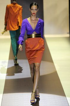 Gucci Spring 2011 RTW - Review - Fashion Week - Runway, Fashion Shows and Collections - Vogue