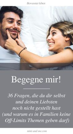 Begegne mir: 36 Fragen, die du dir selbst und deinen Liebsten noch nicht gestell… Meet me: 36 questions that you have not yet asked yourself and your loved one (and why there should not be any off-limits topics in families)… Weiterlesen → Health Lessons, Life Lessons, Deep Talks, Romantic Films, Digital Detox, True Words, Better Life, Good To Know, No Time For Me