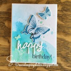 rubber Stamping, Paper Crafting, Card Making and Reading Altenew, Butterfly Cards, Vintage Roses, Stamping Up, Butterflies, Birthday Cards, Card Making, Paper Crafts, Card Ideas
