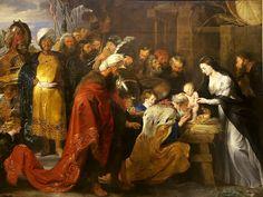 Adorazione dei Magi di Peter Paul Rubens.